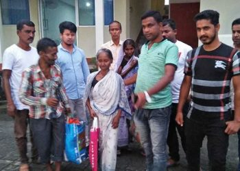Mondal, a widow who worked as a domestic help, had to spend three years at a detention camp in Kokrajhar district after she was declared a foreigner by a Foreigners' Tribunal in March 2016.
