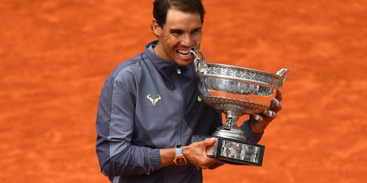 The Spaniard has won the French Open 12 times.