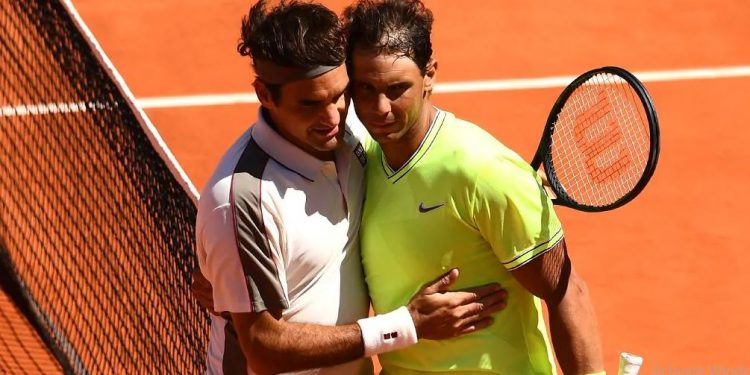 At 33, Nadal is the best part of five years younger than the Swiss veteran but with a career blighted by injuries, he refuses to target the all-time record.