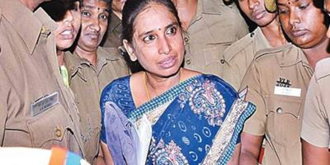 Nalini Sriharan, a life convict in the Rajiv Gandhi assassination case