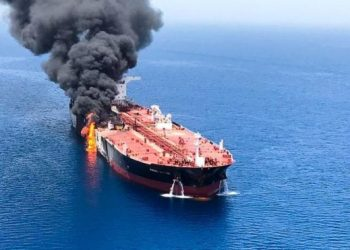Pompeo said Iran 'promised' April 22 to disrupt oil shipping from the Strait of Hormuz.