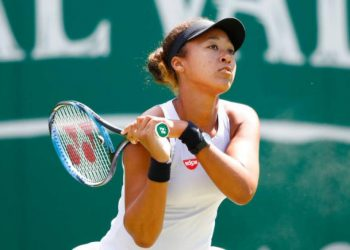 The 21-year-old Japanese star saw her hopes of a third consecutive Grand Slam title end in a dispiriting third round exit at Roland Garros.