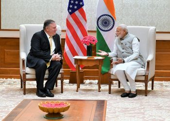 Pompeo's talks here will be the first high-level interaction between the two countries after return of the Modi government to power last month.
