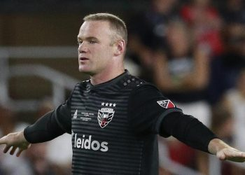 Wayne Rooney scored a goal from his own half against Orlando City