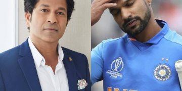 Sachin Tendulkar encourages Shikhar Dhawan to come back strong post injury