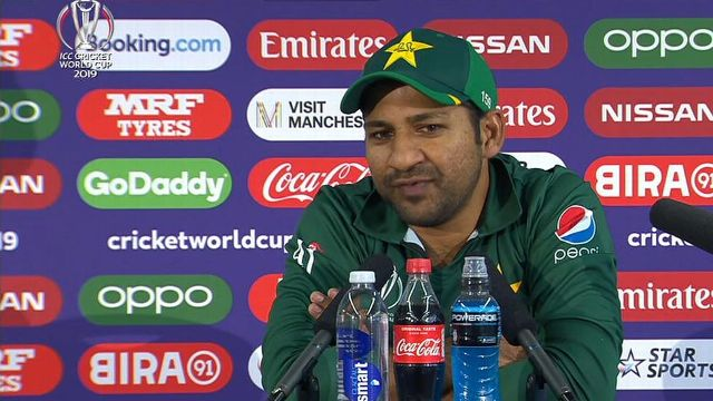 The soft-spoken Pakistan captain was literally hounded by his country's media with a host of uncomfortable questions following the team's heavy defeat against India here Sunday.
