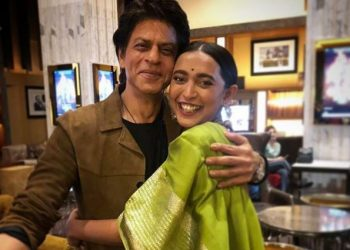 Shah Rukh Wednesday attended a screening of Sayani and Ayushmann Khurrana-starrer 'Article 15' here.