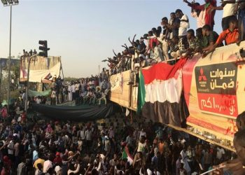 Tens of thousands of protesters were mobilised through online social media apps during the months-long campaign against the now ousted leader Omar al-Bashir.