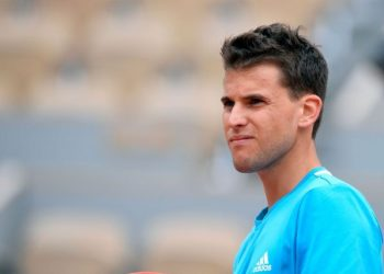 A tournament official told Thiem Saturday to leave the room while he was speaking to reporters after his win against Uruguay's Pablo Cuevas in the third round at the Roland Garros.