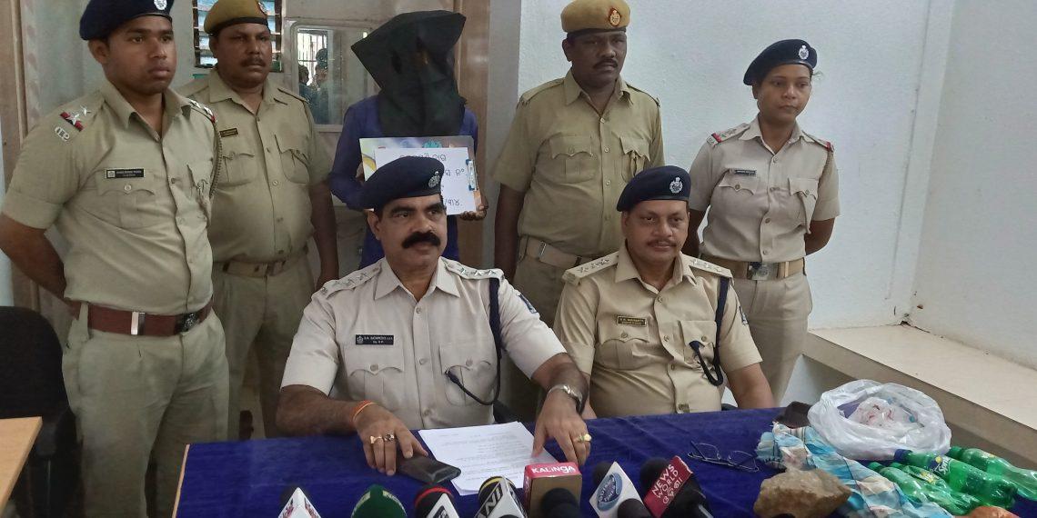 Main accused in murder case held