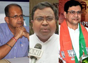 Biju Janata Dal's Amar Patnaik and Sasmit Patra and Bharatiya Janata Party's Ashwini Vaishnav were elected to the Rajya Sabha unopposed