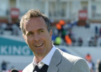 Former England captain Michael Vaughan