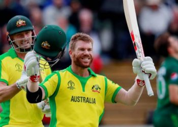 The dangerous opener has made a successful comeback alongside Steve Smith after serving a one-year ban for ball-tampering.