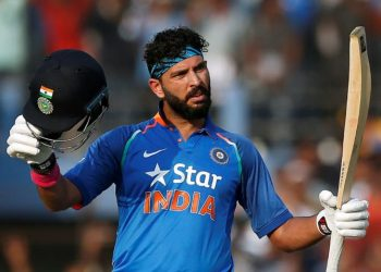 Yuvraj played 40 Tests, 304 ODIs and 58 T20Is for India.