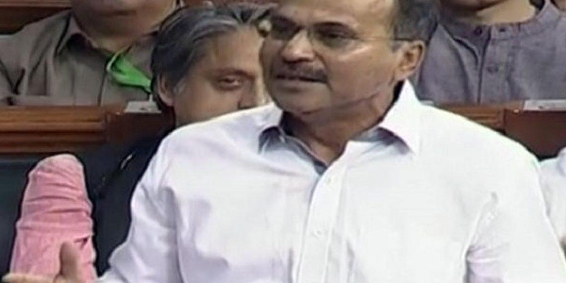 Congress leader Adhir Chowdhury