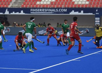 Tense moment before the Mexico goal during their game against Japan, Friday