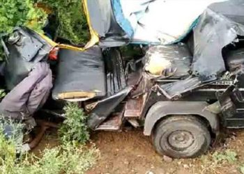 Tension over road mishap
