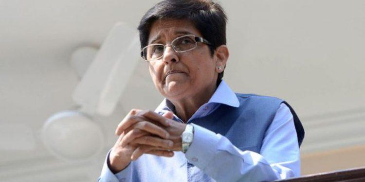 Puducherry Lt. Governor Kiran Bedi