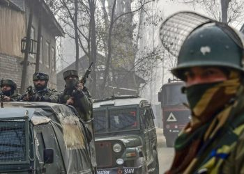 The operation is now over and identities and group affiliations of the four slain militants are being ascertained, police said.