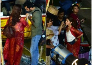 Ranbir Kapoor, Alia Bhatt pictures leaked from Brahmastra sets