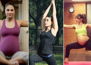 Actresses who practised yoga during pregnancy