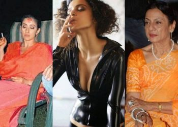 These actresses were often spotted smoking…