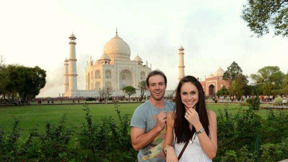 Throwback: When AB de Villiers proposed wife Danielle at the Taj Mahal - OrissaPOST