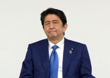 Japan Prime Minister Shinzo Abe. File Photo