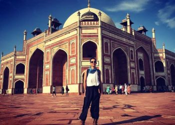 The 39-year-old actor took to Instagram Sunday to share snapshots from her tour to popular heritage sites such as Humayun's Tomb and Agrasen Ki Baoli.