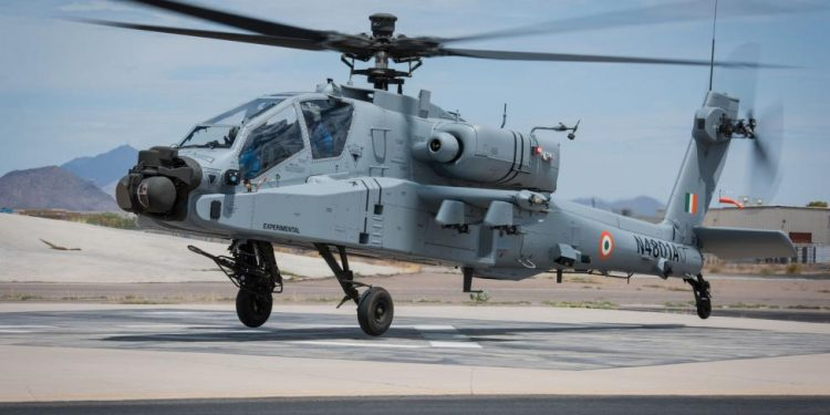 The IAF had signed a multi-billion dollar contract with the US government and Boeing Ltd in September 2015 for 22 Apache helicopters.