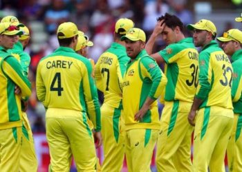 Hosts England humbled Australia to secure an eight-wicket win at Edgbaston and set up a decider Sunday against tournament surprise package New Zealand at Lord's.