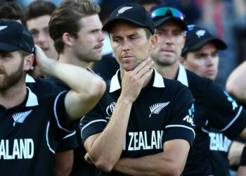 In the pulsating match Sunday, being called the greatest World Cup final by many, the Kiwis tied the regulation 50 overs and the super over but went down on inferior boundary count.