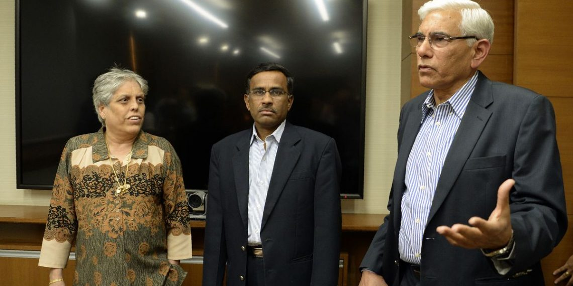 The CoA members led by chairman Vinod Rai, Diana Edulji and Lt Gen (Retd) Ravi Thodge will also have discussions with chairman of selectors MSK Prasad on a roadmap for India for next year's T20 World Cup in Australia.