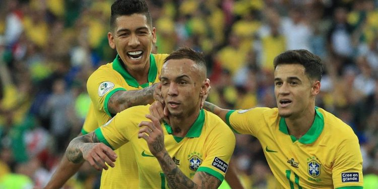 It is the ninth time that Brazil have lifted the football's oldest international continental trophy, which was first played in 1916.