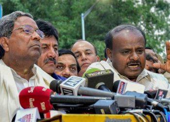 Congress-JD(S) coalition's fate hangs in balance in Karnataka