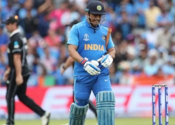 Hardik Pandya and Dinesh Karthik were sent ahead of Dhoni after India were reduced to five for three and then 24 for four.