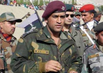 An Honorary Lieutenant Colonel in the Parachute Regiment of the Territorial Army, it is learnt that Dhoni will be spending better part of the next two months with his regiment.