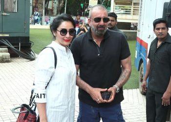Sanjay Dutt and Maanayata