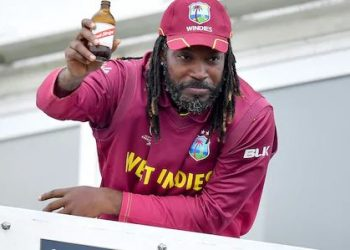 Gayle has amassed 1186 runs at a strike-rate of 90.53 and an average of 35.93 in 34 innings across five World Cups. He also took 16 wickets with his part-time off-spin.
