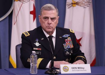 General Mark A Milley, who has been nominated as Chairman of the Joint Chiefs of Staff said in response to written questions for his confirmation hearing of the Senate Armed Services Committee.