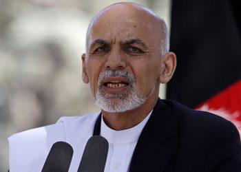 Incumbent President Mohammad Ashraf Ghani