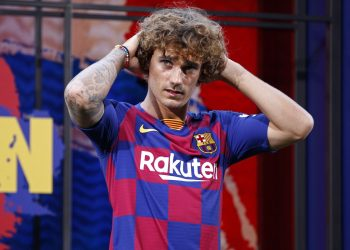 Griezmann almost signed with Barcelona a year ago but instead opted in June 2018 to sign a new five-year deal at the Wanda Metropolitano.