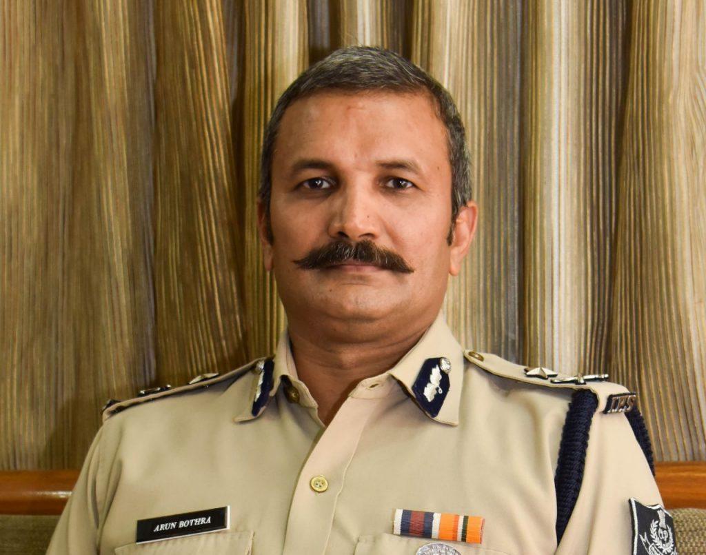 Crime Branch IG Arun Bothra new CRUT MD - OrissaPOST