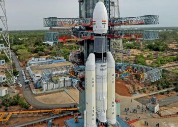 The lift-off of the three-component spacecraft weighing 3,850 kg and comprising an orbiter, the lander and the rover has been scheduled for 2.51 AM from the Satish Dhawan Space Centre (SDSC) here.
