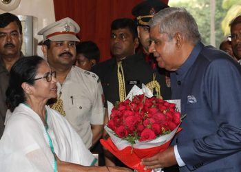 Jagdeep Dhankhar took charge as West Bengal Governor Tuesday