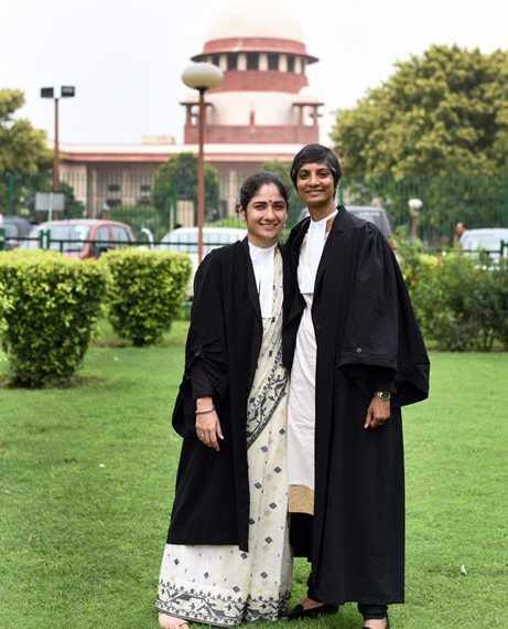 The internet, and social media in general, showered the couple with good wishes after the couple posted a picture together for the viral '#SareeTwitter' trend.