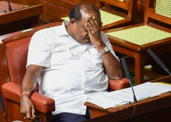 HD Kumaraswamy after the trust vote, Tuesday