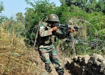 The soldiers, who were manning a forward post in the Romali Dhara area of Nowshera sector, were injured in the firing from across the border Friday. (Representational image)