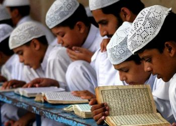 According to reports, the victims, who are all minors, had their clothes torn off and their bicycles were vandalized by the group when the children went to a ground to play cricket after concluding their afternoon namaaz.