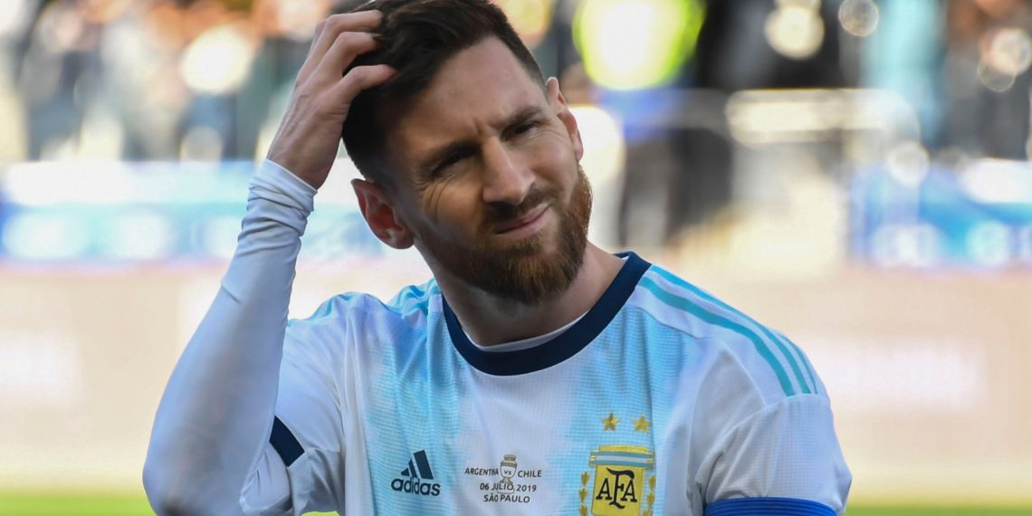 Messi had hit out at South American football's governing body CONMEBOL, accusing them of 'corruption' after he was sent off in Saturday's third place play-off in which Argentina beat Chile 2-1.